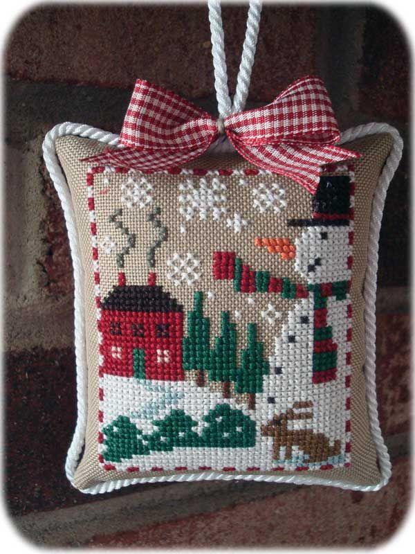 Prairie Schooler's Santas and Snowmen leaflet   Cross ...