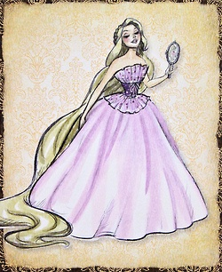 Disney Designer Rapunzel Sketch Mother Gothel Tumblr Drawing Pinterest