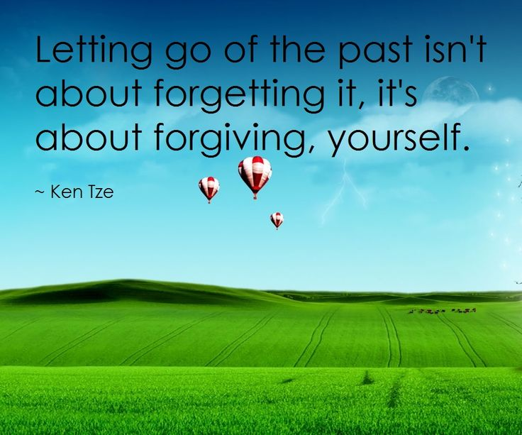 The more you try to forget the harder it is for you to let go!
