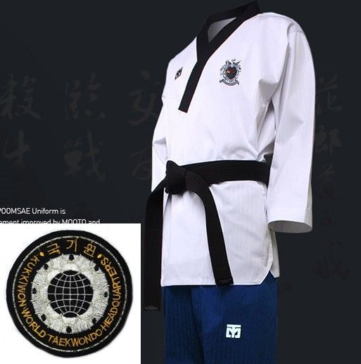 Mooto WTF Poomsae Dan Uniform FEMALE Dobok Kukkiwon Korean Taekwondo Tae Kwon Do #mooto