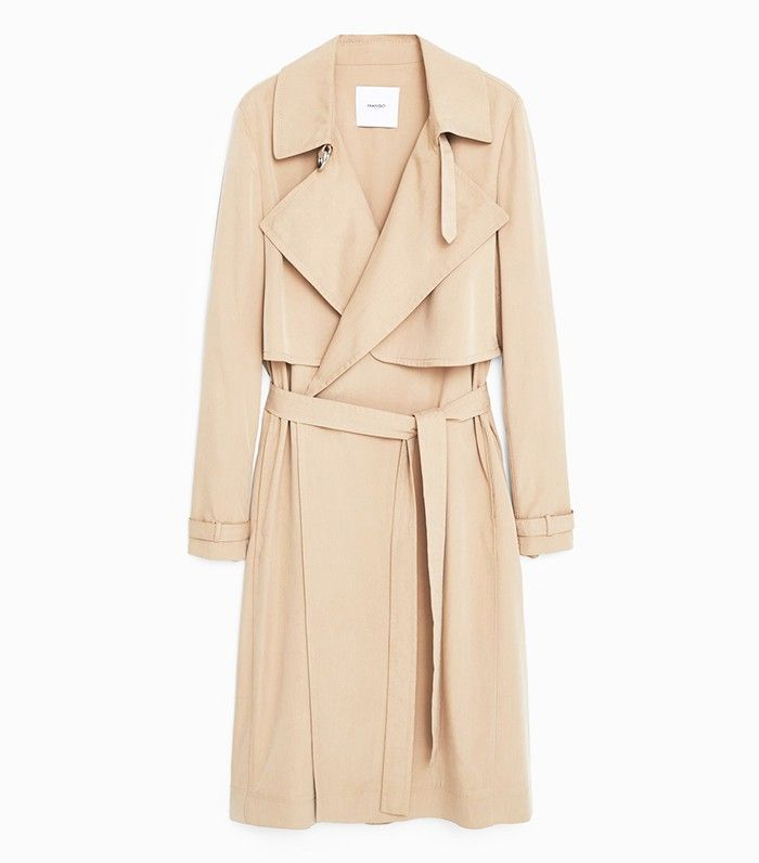 Mango Flow Trench - Kendall Jenner Fashion Tips That Will Never Go Out of Style via @WhoWhatWear
