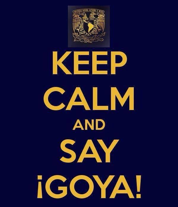 Goya!! UNAM<3
