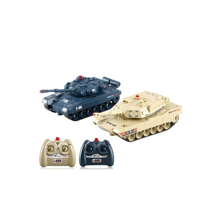Juego de Tanques RC 1/48 para batalla por Infrarrojos - PVP 45€ #RCTecnic #tanquesrc #juguetes