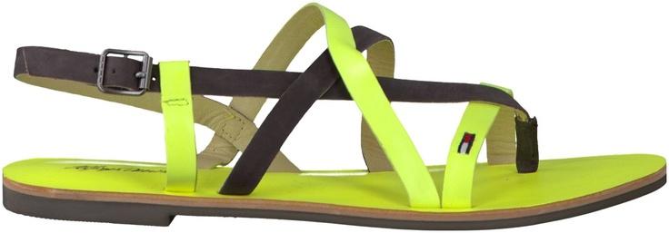 Groene Tommy Hilfiger sandalen ORLA 1