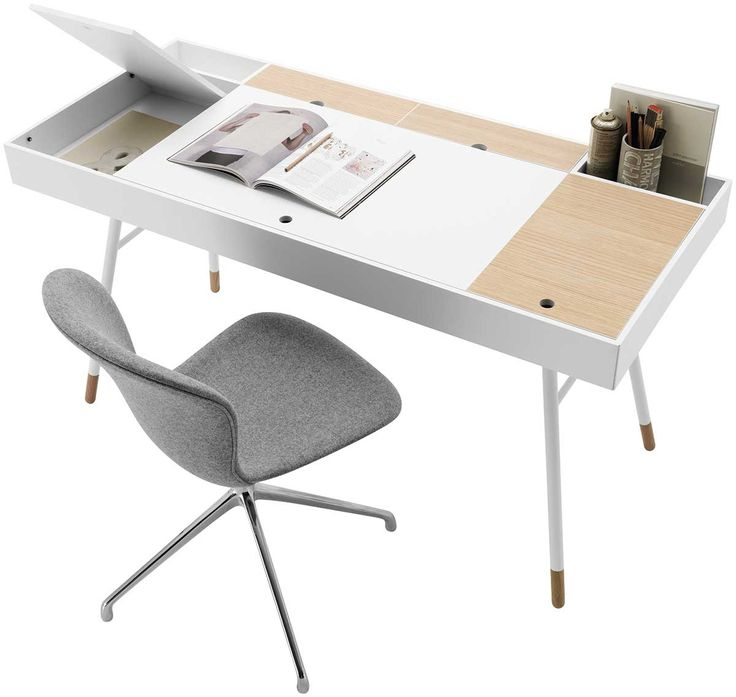Cupertino desk by BoConcept:  http://www.boconcept.com/en-gb/furniture/working/desks-and-chairs