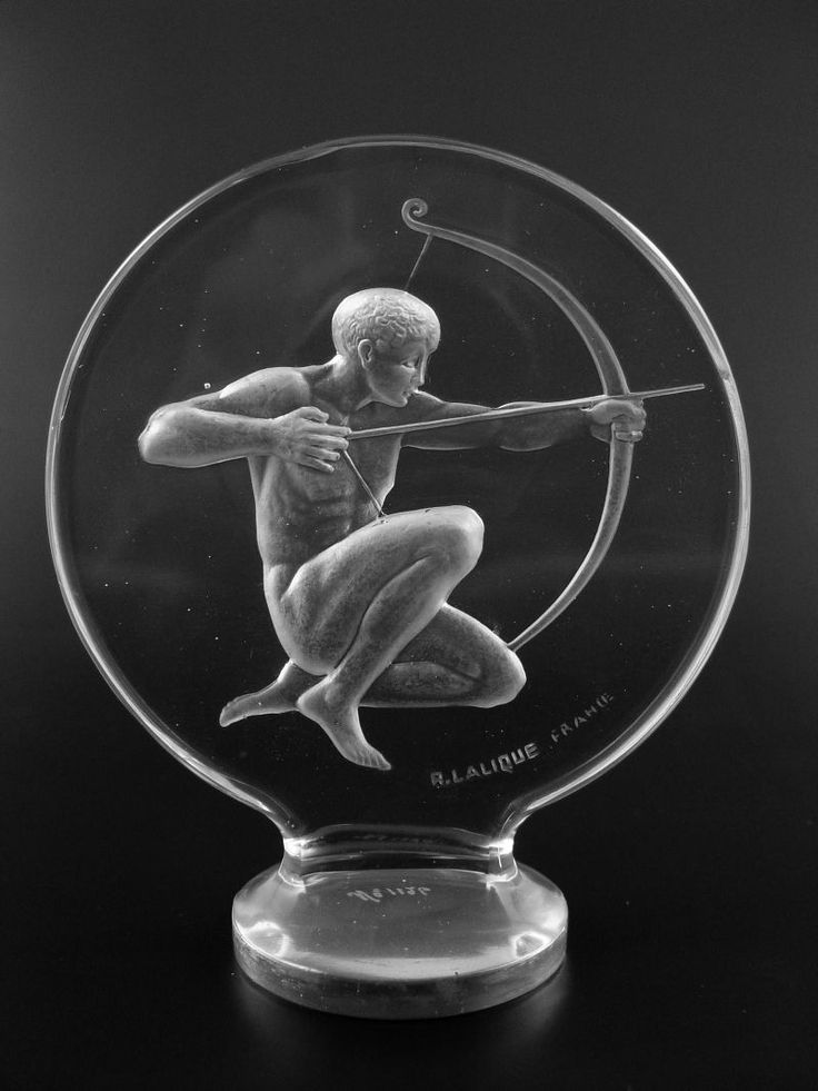 """Lalique Archer """"Car Mascot"""".Re-pin brought to you by agents of #carinsurance at #houseofinsurance in Eugene, Oregon"""