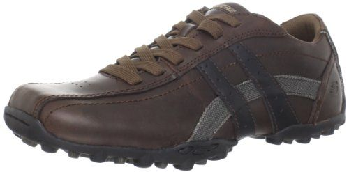 Skechers Men's Talus-Burk Oxford,Coffee,9 M US. Size: 9 D(M) US. 63384. Relaxed Step cushioned removable comfort insole. Low profile shock absorbing midsole. Removable cushioned Relaxed Step insole. Refined, versatile style and long wearing comfort comes in the SKECHERS Talus. Padded collar and tongue. Rubber cleat edging on sole for added style and traction. Soft fabric shoe lining. Flexible rubber traction outsole. Fabric. Contrast side stripes. Rubber outsole. Burk shoe.