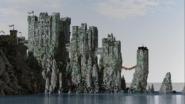 Wow House Greyjoy S Castle Pyke In Minecraft You Win