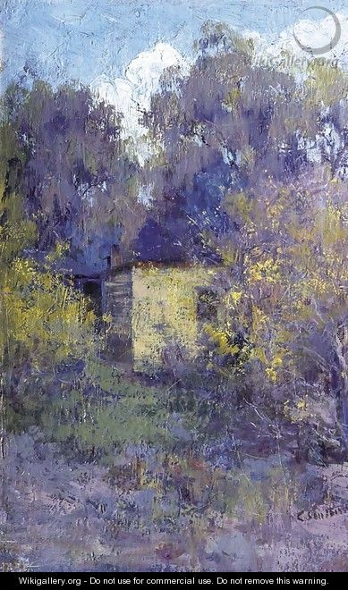 Landscape with Cottage - Clara Southern