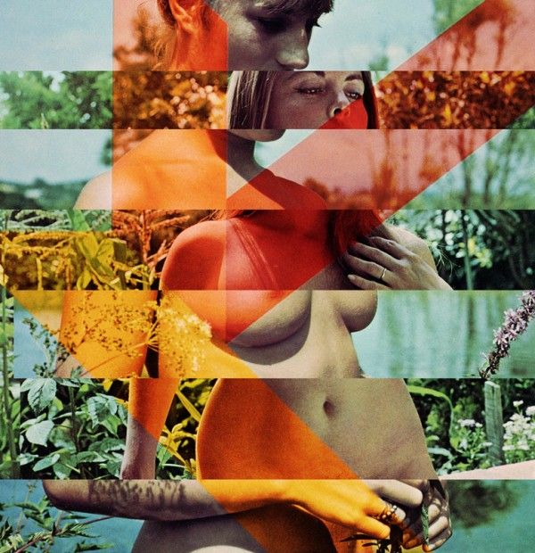 Sammy Slabinnick Vintage Mixed Media Collages | Trendland: Fashion Blog & Trend Magazine