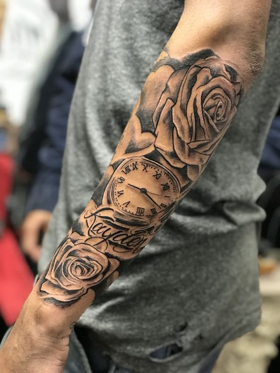 tattoo tattoos forearm wrist sleeve designs arm forarm cool lion hand mens covering guys tattos sleeves lower rose popular cloud