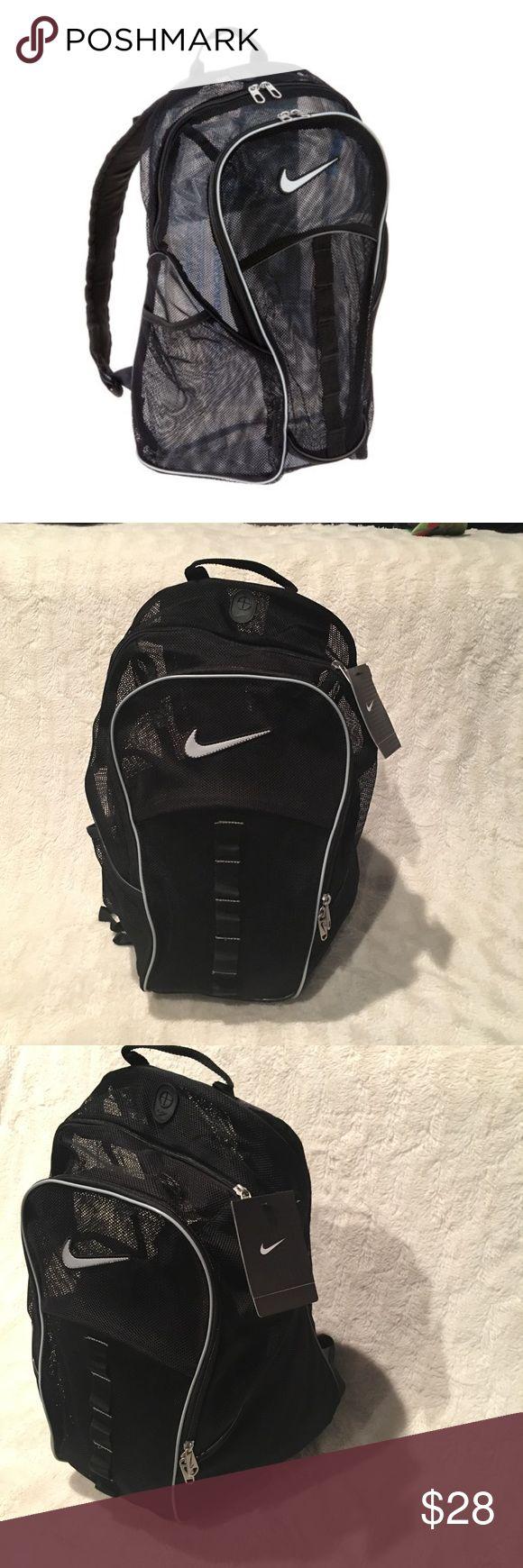 Nike Mesh Backpack NWT Nike Mess Backpack. Price is firm! Nike Bags Backpacks