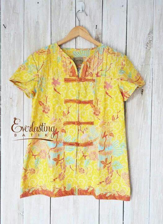 cakep # batik kuning