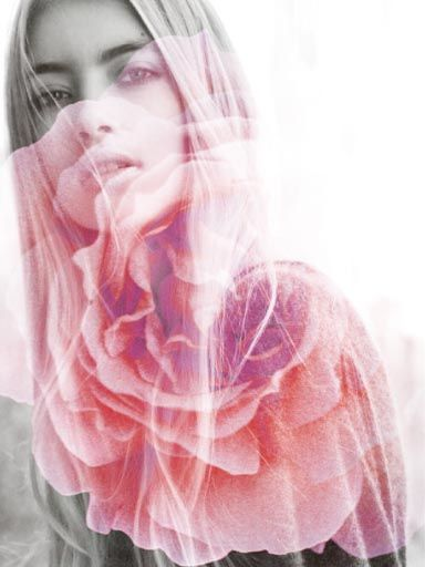 Love the textured, double exposure effect : ) Can make some really whimsical, romantic photos for a more artistic album.