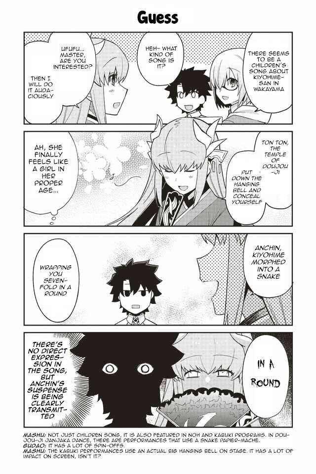 Oshiete Fgo Ijin To Shinwa No Grand Order 2nd Period Kiyohime Fate Stay Night Anime Fate Anime Series Fate Stay Night