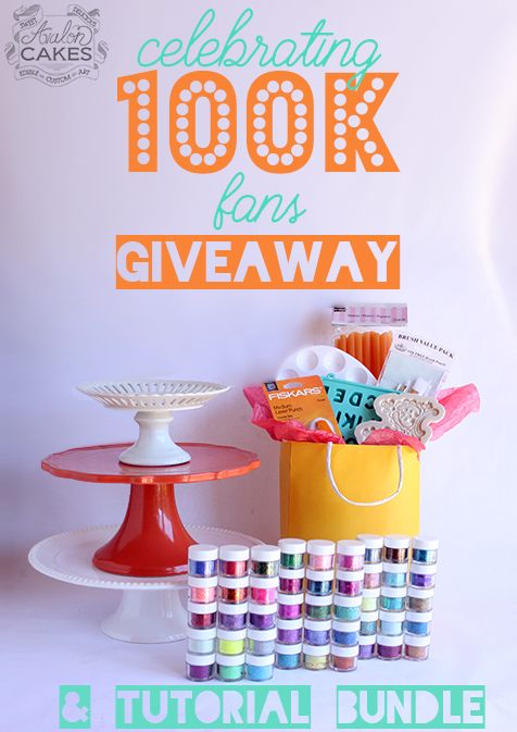 Enter this competition to win the cake prize pack!