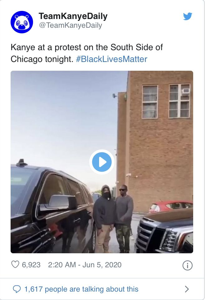Not Only Did Kanye West Donate 2 Million He Step S Out To Join The Protest In 2020 Kanye West Kanye American Rappers