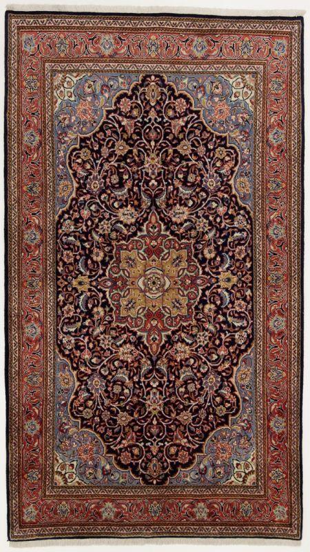 Perserteppich Sarough Dunkelblau 136x237cm