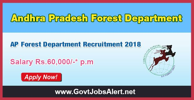 AP Forest Department Recruitment 2018 - Hiring Procurement Specialist, Zoo Expert and Other Posts, Salary Rs.60,000/- : Apply Now !!!  The Andhra Pradesh Forest Department – AP Forest Department Recruitment 2018 has released an official employment notification inviting interested and eligible candidates to apply for the positions of Procurement Specialist, Zoo Expert, Eco-tourism Expert, MIS Specialist and GIS Expert.   #2018 #AndhraPradeshForestDepartment #AndhraPrades