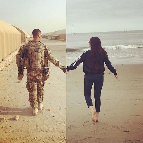 I absolutely love this /alieshaaa/ #military #militarylove #militarygirlfriend…