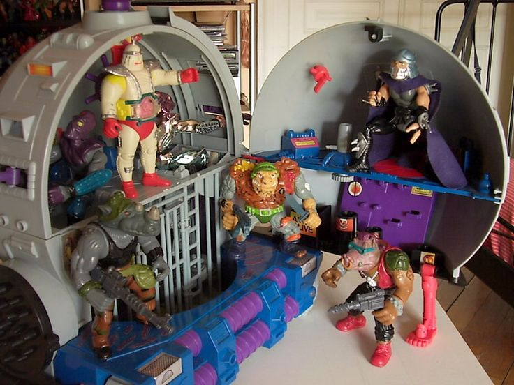 Technodrome, Large Body Krang and Other TMNT Classic Figures Hinted