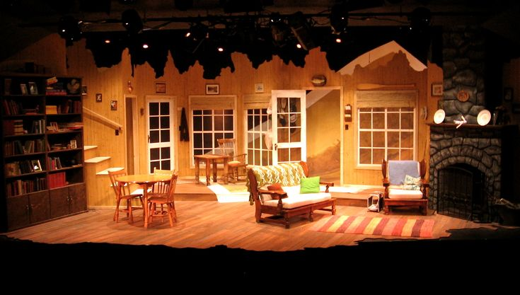 On Golden Pond - Rosebud Theatre. Set design by Dale Marushy.