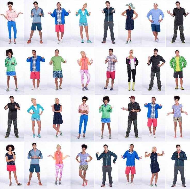 Columbia Sportswear's new Spring 2015 line
