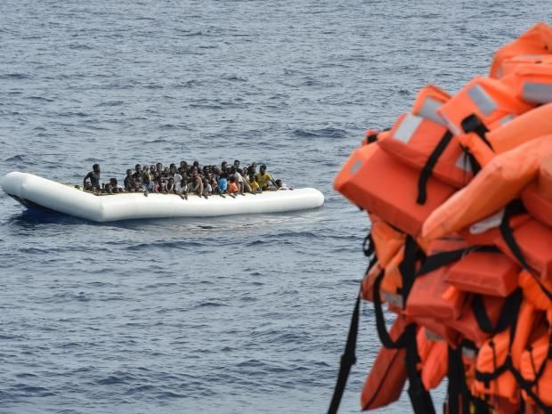 """ABOUT BLOODY TIME: """"The German Interior Ministry wants to stop migrants ever reaching Europe's Mediterranean coast by picking them up at sea and returning them to Africa, the Welt am Sonntag newspaper reported on Sunday. In what would be a huge shift for a country with one of the most generous asylum policies, the ministry says the European Union should adopt an Australian-style system under which migrants intercepted at sea are sent for processing at camps in third countries."""""""