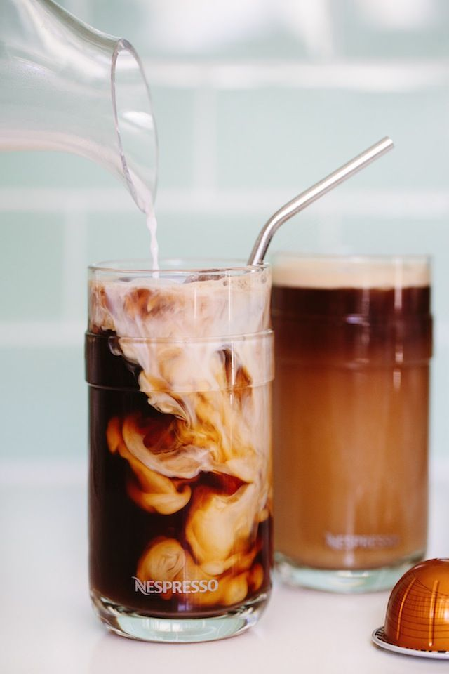 While I'm still in denial that it's Monday already (where did the weekend go?!), I'm super excited to be sharing this Nespresso recipe with you.  I've been drinking Nespresso for over 7 years and swear by their coffee!  It's the best taste of any coffee you can brew at home and I even prefer it …