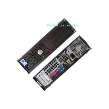 Calculatoare second hand Dell 760 Garantie 1 an Pret 540 lei  Calculator second hand Dell 760, Core 2 Duo E7400 – 2800 Mhz, 2 Gb ram, 160 Gb Harddisk, Dvdrw, Placa sunet, Placa retea ...