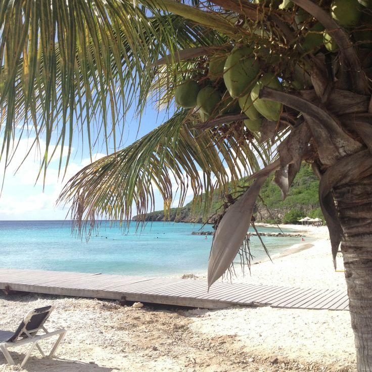 Port Marie, curaçao (Gaaf strand en ee heerlijke duikplaats)