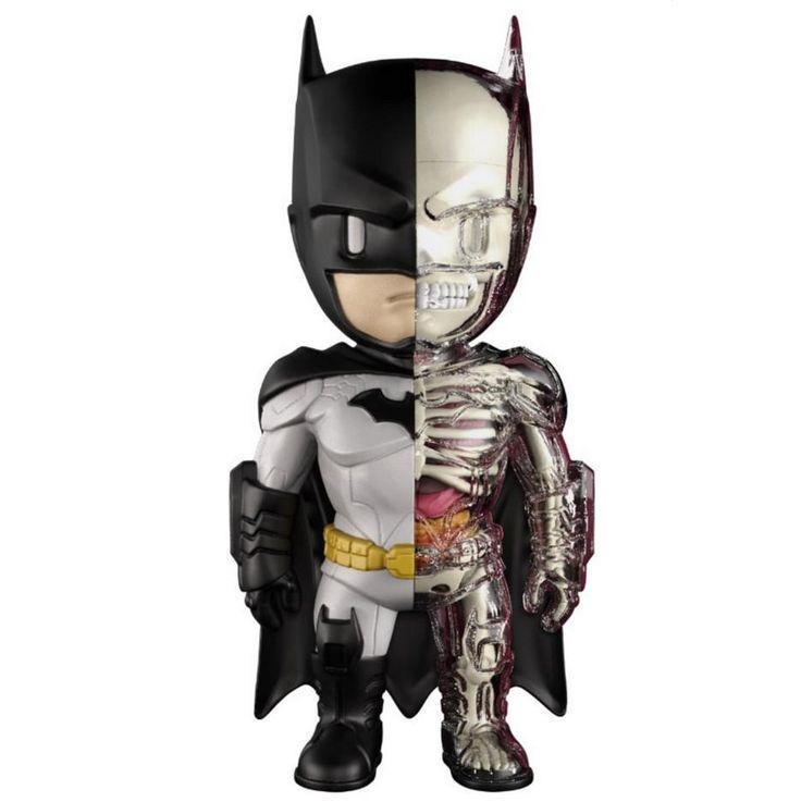 XXRAY 4D Batman Larger 9-inch Figure by Jason Freeny x Mighty Jaxx x DC Comics PREORDER