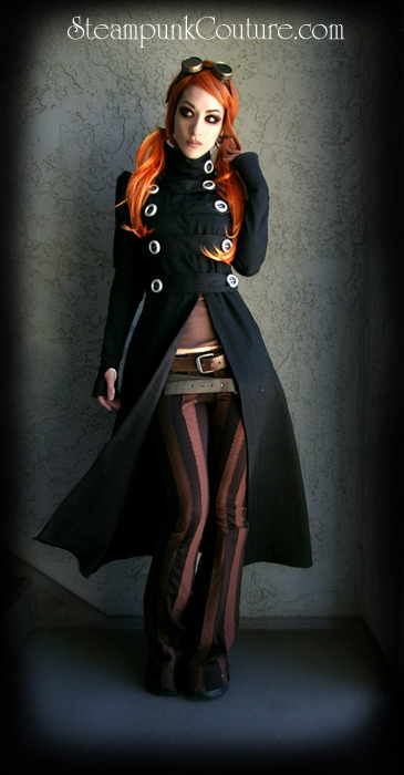 loving the pants: Steampunkfashion, Steampunk Fashion, Steampunk Couture, Halloween Costumes, Fashion Style, Jackets, Steam Punk, Trench Coats, Steampunk Outfits