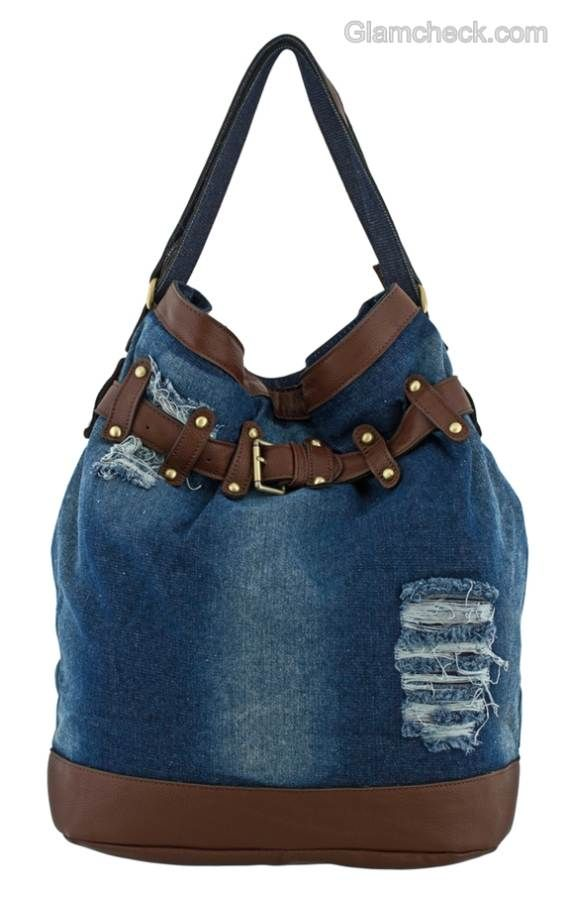 Sacs à main-4 Denim