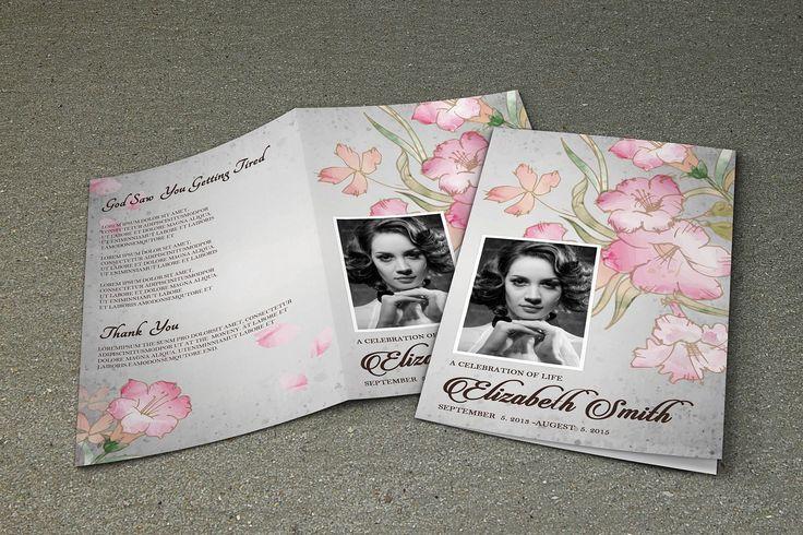 Funeral Program Template-V355 - Brochures - 1