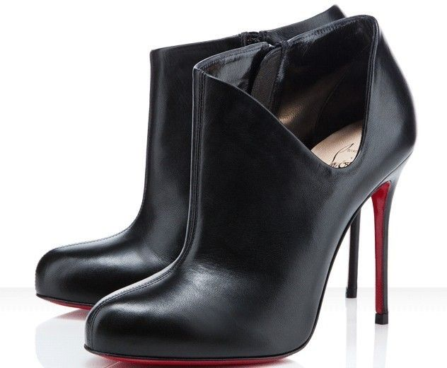 305e2a3cf0f 435ba 88654  where can i buy comfortable christian louboutin lisse ankle boots  black red sole shoes high end