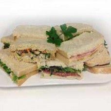 Sandwich platters (sandwich halves)