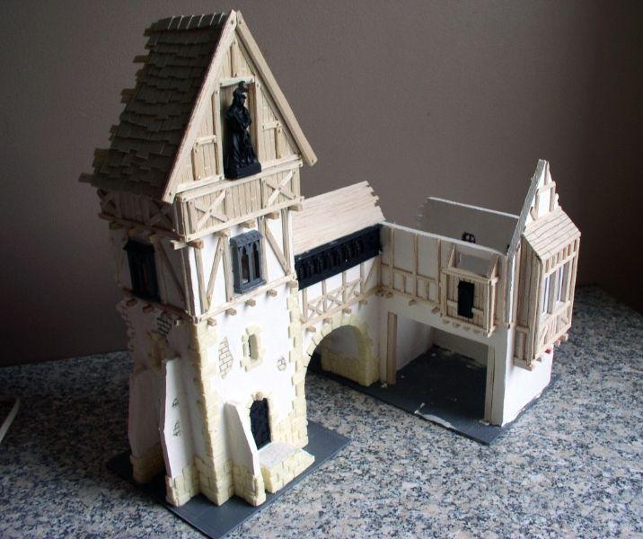 Warp Lib.: Modélisme : construire un manoir fortifié. Partie 4 - Avancements