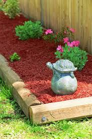 Garden Border Railroad Ties That Bind Pinterest Gardens Fire Pits And Garden Borders