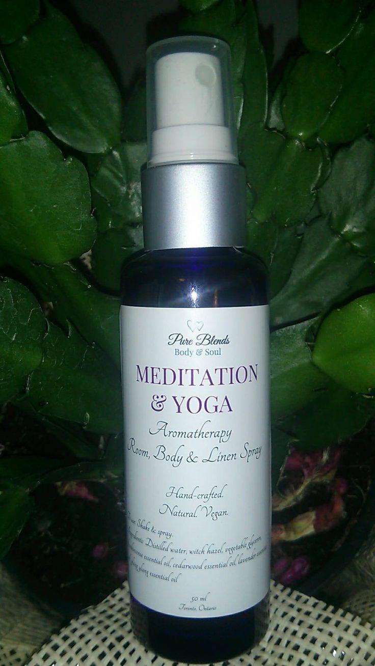 Meditation & Yoga Aromatherapy Room, Linen & Body Spray