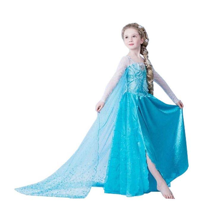 $17.46 (Buy here: https://alitems.com/g/1e8d114494ebda23ff8b16525dc3e8/?i=5&ulp=https%3A%2F%2Fwww.aliexpress.com%2Fitem%2FNew-Summer-dress-princess-sofia-dress-infantil-fever-disfraz-anna-elsa-elza-costume-vestido-rapunzel-jurk%2F32611058576.html ) New Summer dress princess sofia dress infantil fever disfraz anna elsa elza costume vestido rapunzel jurk disfraces clothing for just $17.46