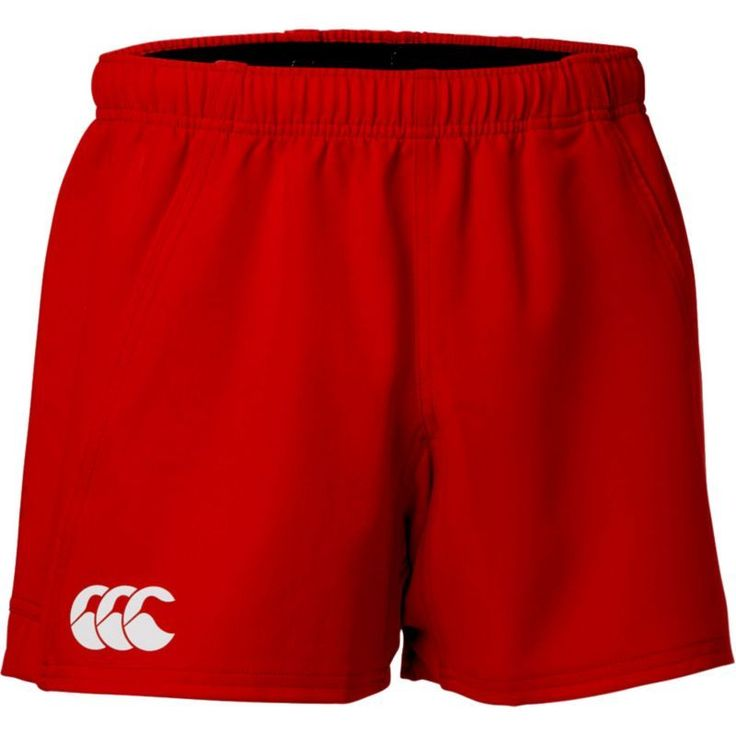 Canterbury Men's Advantage Rugby Shorts, Size: XS, Red