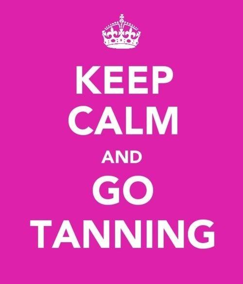 I <3 tanning!