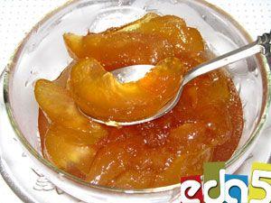 Яблочное варенье с прозрачными дольками