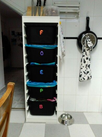Mueble ikea almacenaje para guardar fruta bolsas y - Bolsas almacenaje ikea ...