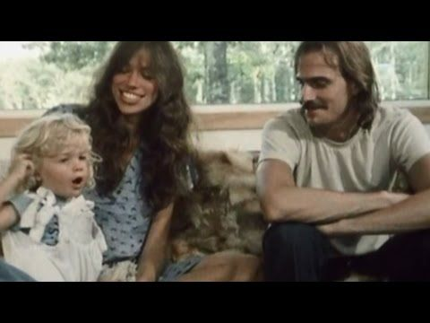 James Taylor & Carly Simon at home - 1977.  Magical footage!  Sally is adorable!