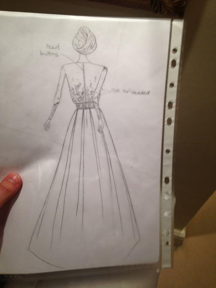 sketch-back view