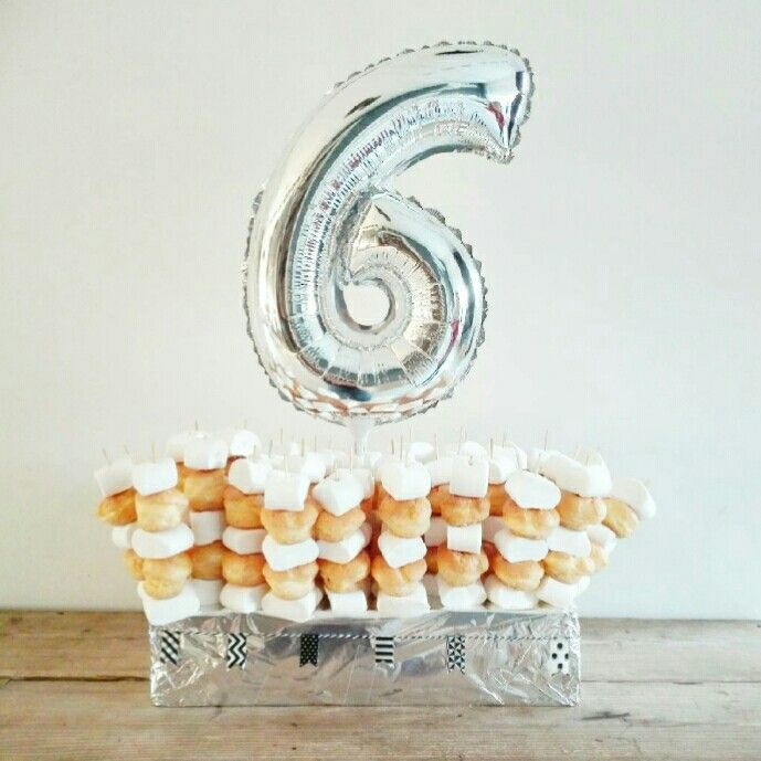 Soesjes en marshmallows traktatie