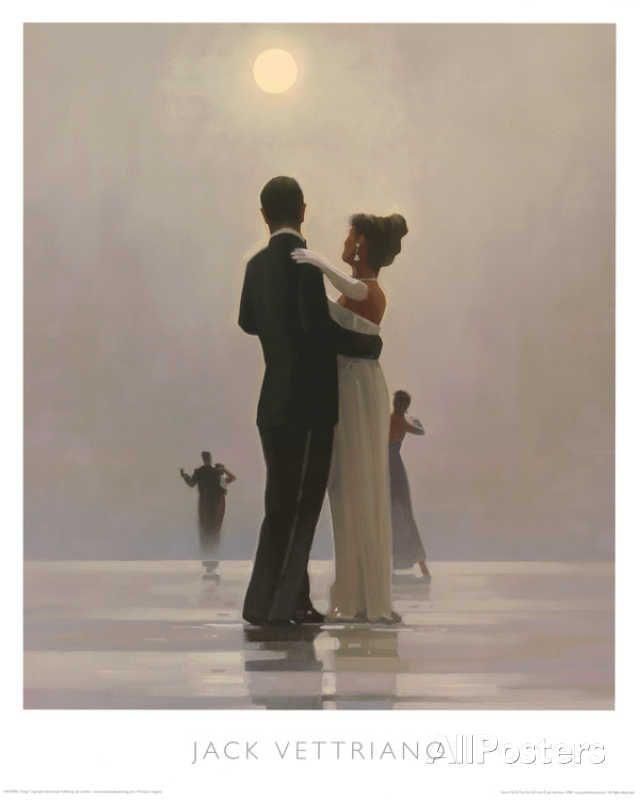 Faites-moi danser jusqu'à la fin de l'amour Posters par Jack Vettriano sur AllPosters.fr
