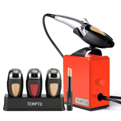 Deluxe Air Brush Kit | AirBrush Makeup Machine | TEMPTU $235 for Deluxe Signature Kit or $170 for Machine and Foundation Kit.